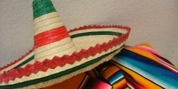 Mexican hat and scarf, mexican food, mexico, Gig Harbor Resturant, Moctezuma's Mexican restauequila barrant , t