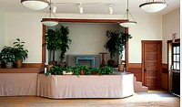 Fox Island Nichols Center, Front of Facility, community center, Fox Island, Stage, Event Location, Venue, For Rent, Party, Event, Stage, Performance, Room for Rent, Classroom, Board Meeting Room, Garage sale, Dance, Music, Alcohol, Open House, Kitchen, Fire pit, Outdoor-Indoor event Space, Historic, Parking available, Outdoor tent space, Gig Harbor, Large meeting room, Table and chairs included, wedding, weddings, rehearsals, birthday party, family center, family fun, art show, auditorium, dance hall, hall for rent , community center, picnic area
