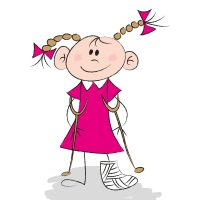 Child, girl, broken leg, hospital, Mary Bridge, fundraiser, donation, event, event resources, Gig Harbor,