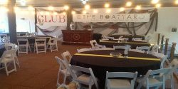 Club @ the Boatyard, Gig Harbor Marina, Gig Harbor, waterfront, venue, rental, event, dancing, beer, wine, bands, boats, Guesthouse at the Boatyard, Trolley, wedding, parties, birthday, catering, BYOB, Park, Marina, boat, dock, apartment, boat rentals, yacht, party, waterfront, music