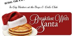 Boys and Girls Club, Santa Breakfast, Pen Met Parks, holiday, Breakfast, Kids, Pancakes, Dec. 3, Pictures
