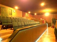 Auditorium seating, tiered seating, Flat Floor Auditorium with stage, production, theater, theatre, dance, musical, seating, rental, venue, chairs, audio visual, stage lights, plays, performance
