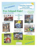 Fox Island Fair Poster