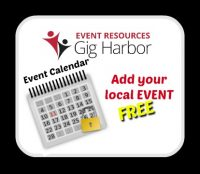 Event Resources Gig Harbor, Free, Calendar, Events,