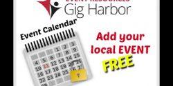 Event Resources Gig Harbor, Free, Calendar, Events,