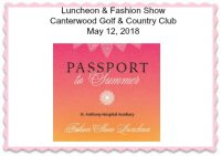 Fashion Show, Canterwood, Golf and Country Club, St. Anthony's Hospital, Fundraiser, Anthonys Closet