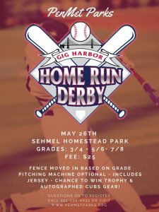 Home Run Derby- PenMet Parks @ Sehmel Homestead Parks |  |  |