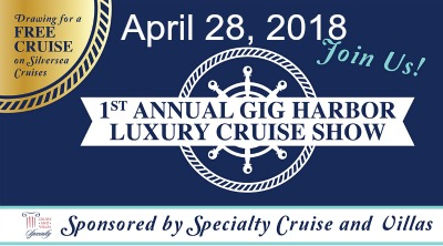 Coming to Gig Harbor- 1st Luxury Cruise Show @ The INN at Gig Harbor  |  |  |