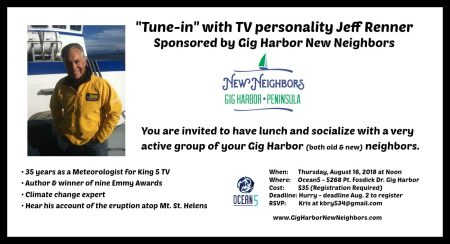 Jeff Renner- Coming to Gig Harbor @ Ocean5 | Gig Harbor | Washington | United States
