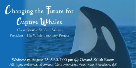 Cocktails & Fishtales- Topic: Changing the Future for Captive Whales @ Ocean5 | Gig Harbor | Washington | United States