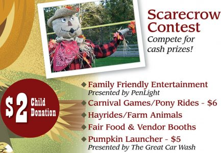 Scarecrow Festival, Penmet Parks, Venue, Pavilion, Kids, family,
