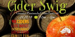 Greater Gig Harbor Foundation, Cider Swig, festival, drinking, family, kids