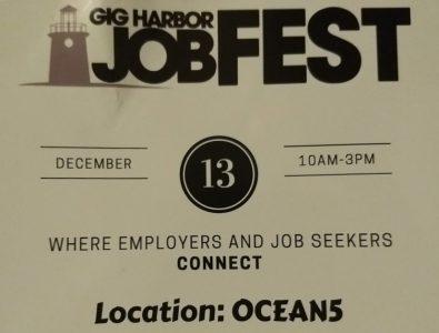 Gig Harbor JobFest @ Ocean5 | Gig Harbor | Washington | United States