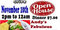 Gig Harbor Eagles Club, Open House, dinner, The Shy Boys, dancing, membership, club house, Spaghetti