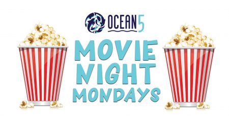 Gig Harbor ,Events, Move Night, Ocean5, vene, bowling, Lazer Tag, Movie, Mondays, Popcorn, food