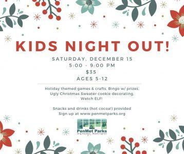 Kids Night Out- drop off kids while you shop @ Rosedale Hall   Gig Harbor   Washington   United States
