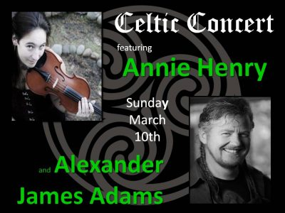 Celtic Concert at Fox Island Chapel (Members only) @ Fox Island Chapel On Echo Bay  | Fox Island | Washington | United States