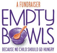 Empty Bowls, fundraiser, art, artists, Gig Harbor, pottery, glass, soup, shopping, fundraiser, children,