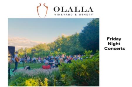 Friday Night Concert at Olalla Winery @ Olalla Winery | Olalla | Washington | United States