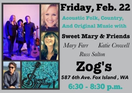 Sweet Mary & Friends   Acoustic Folk , Country and Original Music @ Zog's  | Fox Island | Washington | United States