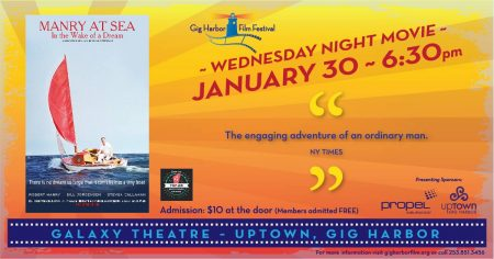 January Movie Night-  At Sea: In the Wake of a Dream @ pin Galaxy Theatres Luxury+ IMAX Gig Harbor  | Gig Harbor | Washington | United States