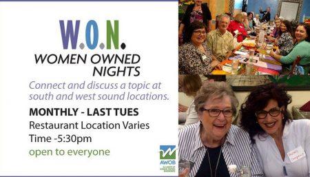 Alliance for Women Owned Businesses- Women-Owned-Nights @ Morso Restaurant -  | Gig Harbor | Washington | United States