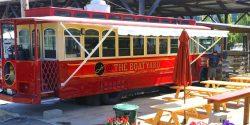 Food Trolley, the Gig Harbor Marina, Boatyard, Food, Club @ Boatyard, Chef Sunshine, waterfront, Gig Harbor, public eating, restaurant