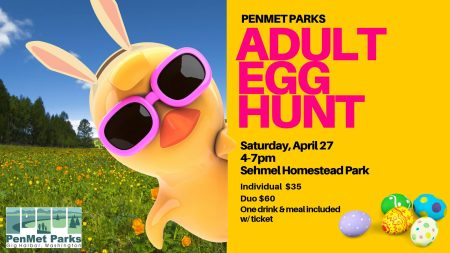 Adult Easter Egg Hunt (PenMet Parks)