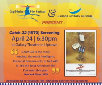 Screening of Catch-22 @ Galaxy Theater  @ Galaxy Theater | Gig Harbor | Washington | United States