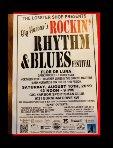 Gig Harbor, Rock, Rhythm & Blues Festival, Music, Live, Festival, Foof, Beer, Wine, Stage, Concert, Gig Harbor, vendors, Permission to Start Dreaming