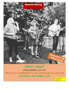 Sweet Mary & Friends In Concert! @ Olalla Community Club   Olalla   Washington   United States