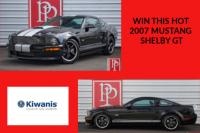Car Raffle, Mustang, Shelby GT, Car, Kiwanis Club of Gig Harbor, heart, Community, Win at car, Win, drawing, Tickets, 2007 Mustang, Raffle