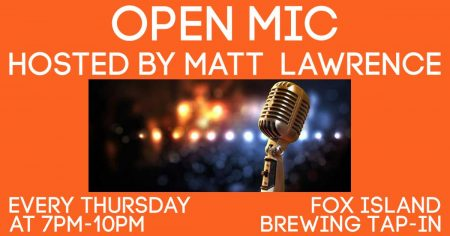Open Mic- Fox Island Brewing @ Fox Island Brewing