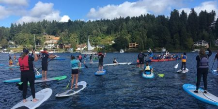 SUP in the Harbor for our schools @ Skansie Brothers Park | Gig Harbor | Washington | United States