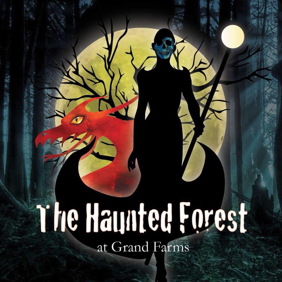 Haunted Forest, Gig Harbor, Vaughn, WA. Halloween, Haunted Fun,