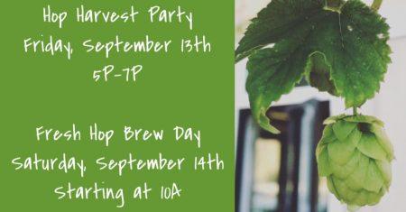 Hop Harvest Party at FIB