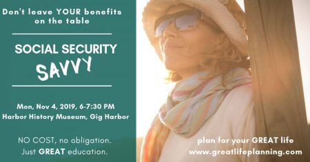 Social Security, Crystal McMahon, Harbor History Museum, Gig Harbor, Events, Workshop, Gig Harbor Events
