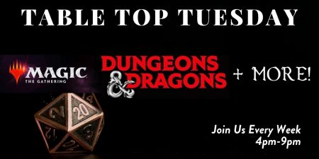 Dungrons & Dragons, Games, Table Top Tuesday, Ocean5, family
