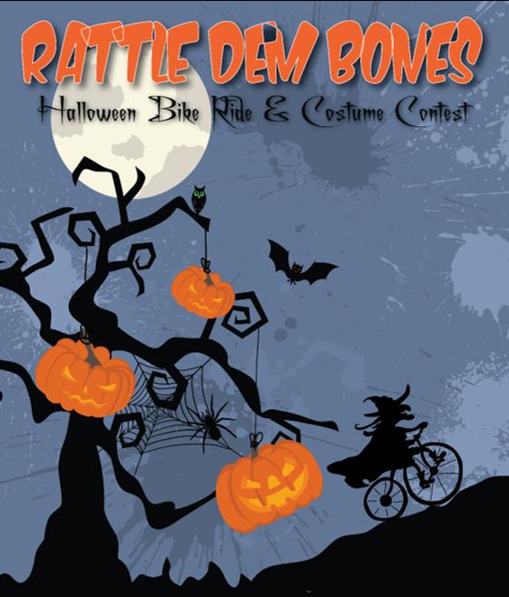 Rattle Dem Bones Bike Ride, Gig Harbor Event, Biking, Bike, Rise, Halloween, Greater Gig Harbor Foundation