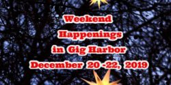 Gig Harbor Events, Harbor Happenings, Holidar, Live Music