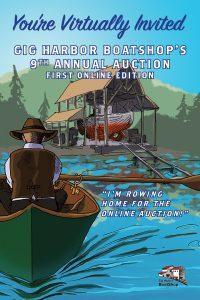 Gig Harbor Boatshop, Auction, Virtual, Event,