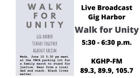 Gig Harbor, March, Racism, Black Lives Matter, YMCA, BLM