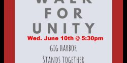 Gig Harbor, March, Racism, Black Lives Matter, YMCA, BLM
