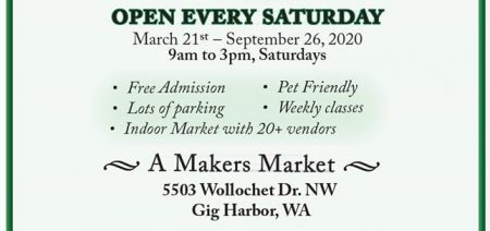 Peninsula Marketplace, Gig Harbor, craft market, Peninsula Gardens, vendor