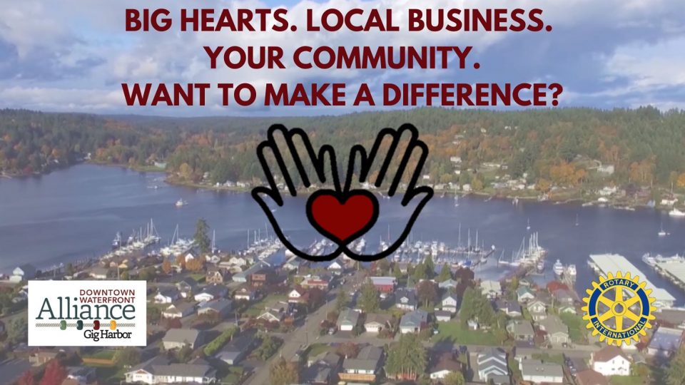 Make a Difference in Gig Harbor, shopping, event
