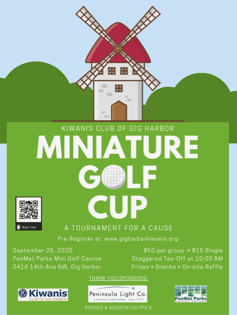 Kawanis Club, Pen Met Park, Gig Harbor, Kids, Family, Event, Miniature Golf, Fun, Event