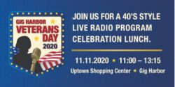 Gig Harbor, Event, Veteran's Day Ceremony, Car, Radio, Uptown Shopping, Outside, Kiwanis, Honor, service, Veteran, Holiday, Nov. 11